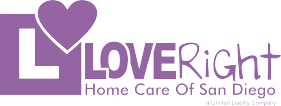 Love Right Home Care, Logo