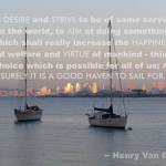 LOVE RIGHT SAILING QUOTE