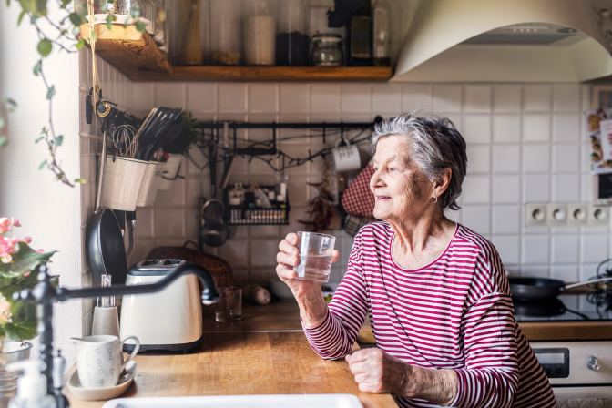 The Importance of Water for Elderly