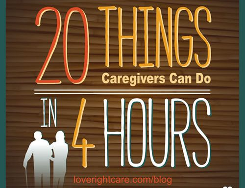 20 Things Caregivers Can Do in 4 Hours