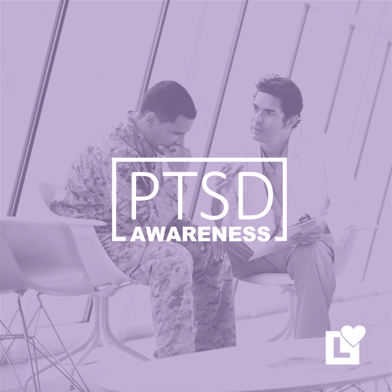 PTSD AWARENESS - Doctor Consulting a Soldier about PTSD