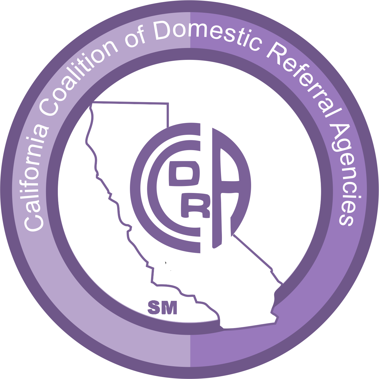 CCDRA Logo - California Coalition of Domestic Referral Agencies