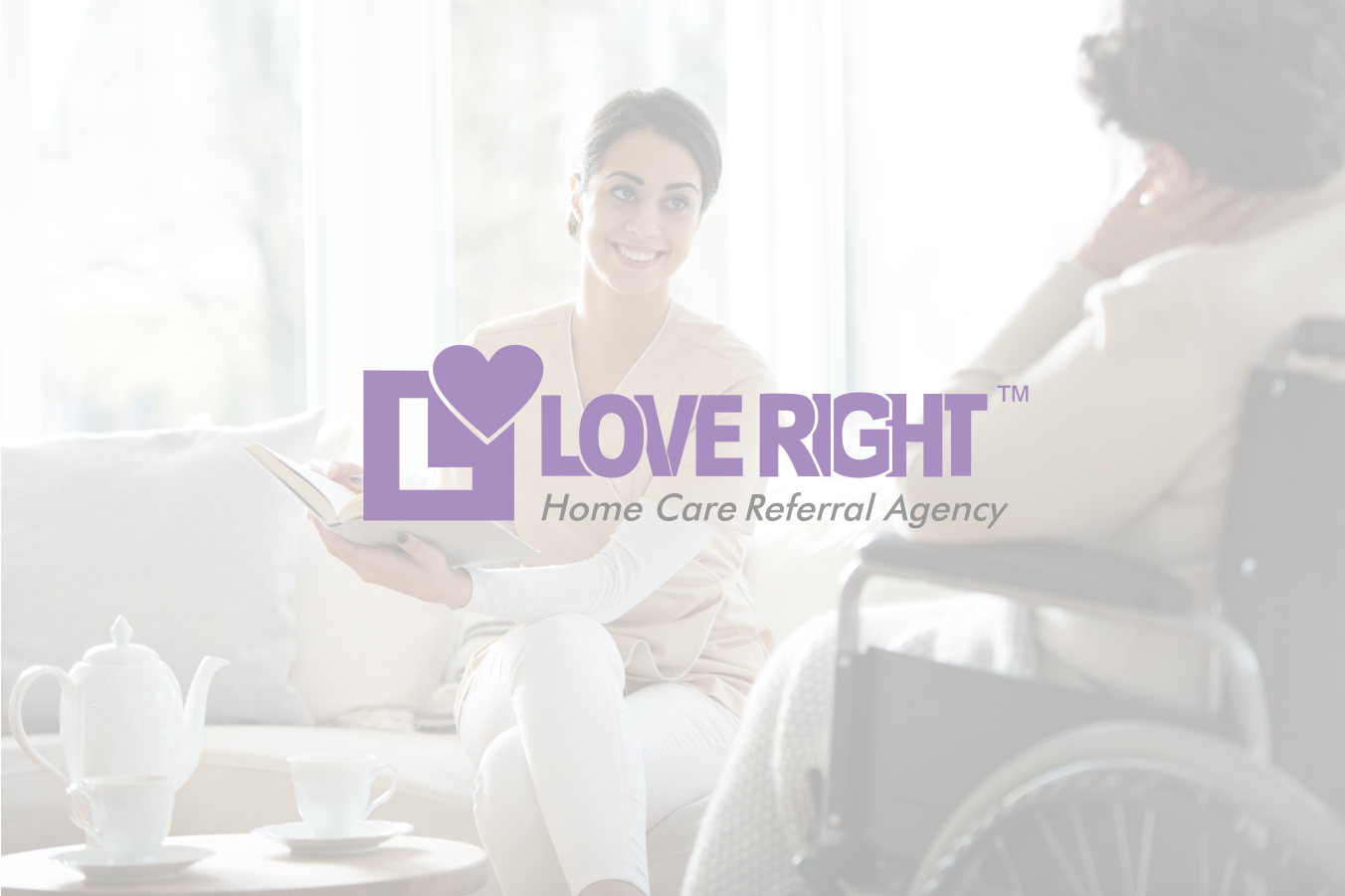 Caregiver Services | Love Right Home Care Referral Agency |