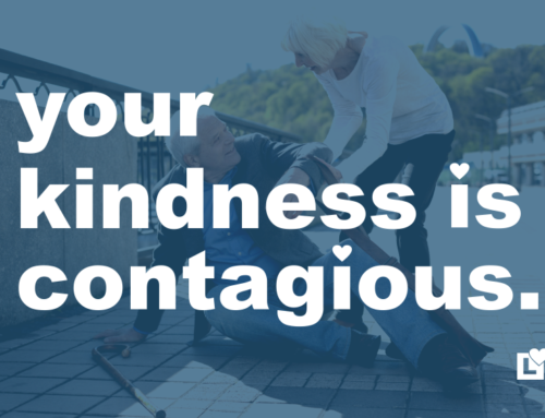 Your Kindness is Contagious