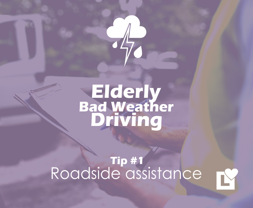 Elderly Driving in Bad Weather - Tip 1