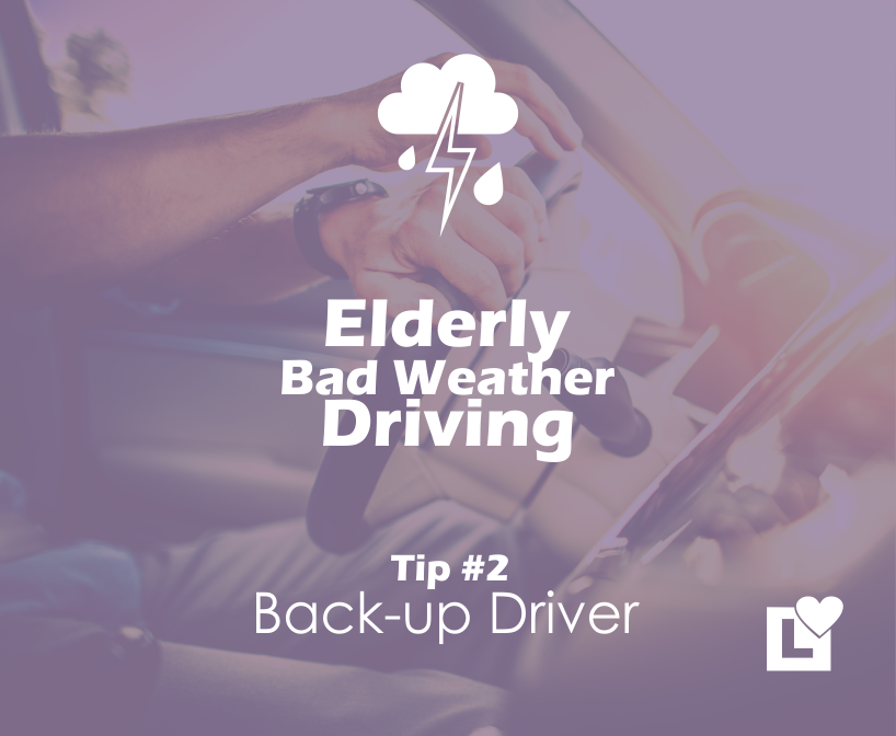 Elderly Driving in Bad Weather - Tip 2