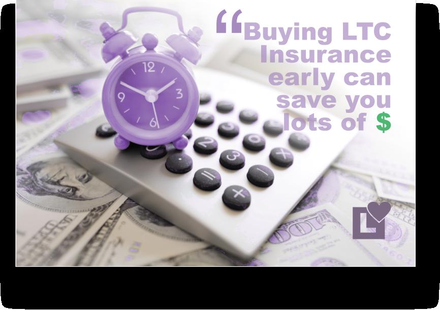 Long Term Care Insurance - Saving money1