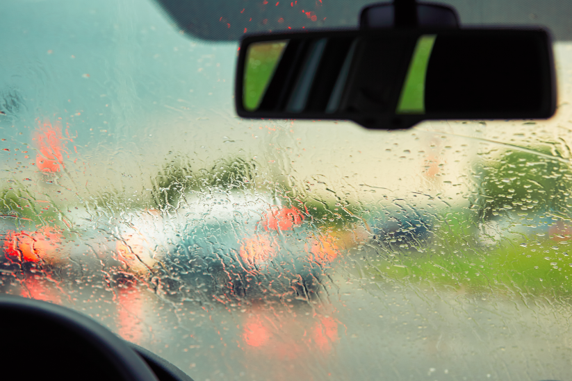 Safety Tip - Elderly Driving in Bad Weather