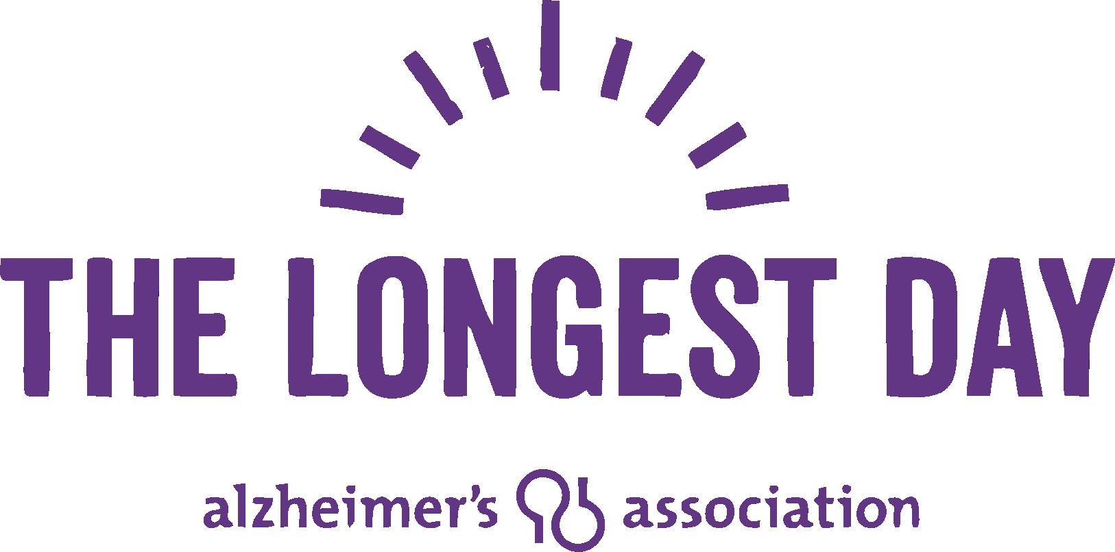 Alzheimers Association - The Longest Day Logo