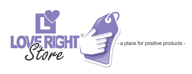 Love Right Store Logo - with tagline